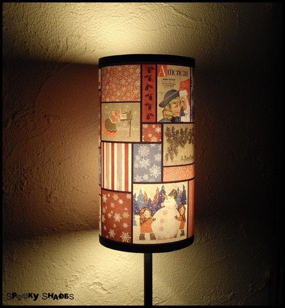 Vintage Christmas Lamp