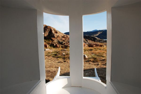 Landscape view from inside