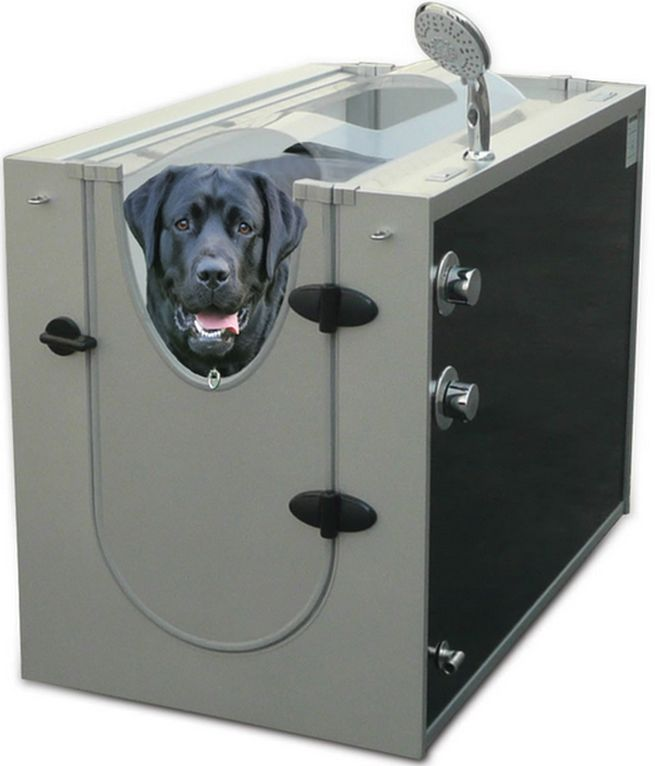 Canine Show Stall dog shower_1