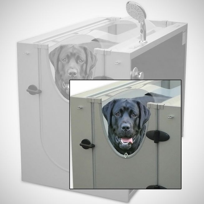 Canine Show Stall dog shower_2
