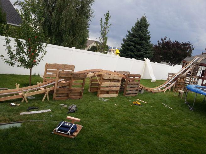 DIY $50 Backyard Rollercoaster_1