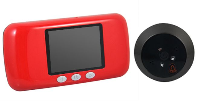 Digital Peephole Viewer Camera with LCD Monitor