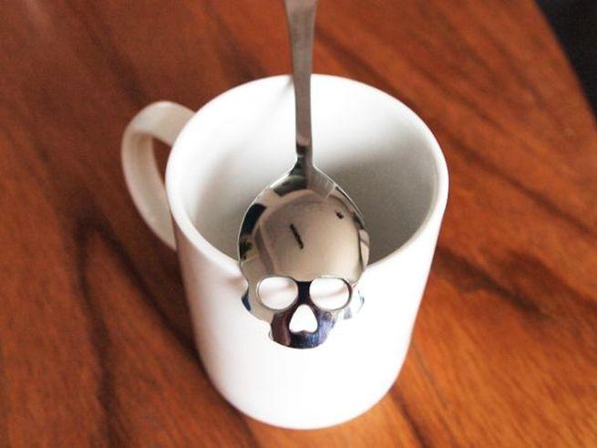 Skull Spoon for sugar_8