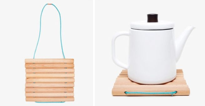 Wooden Little Big Trivet by Byamt for Areaware_4