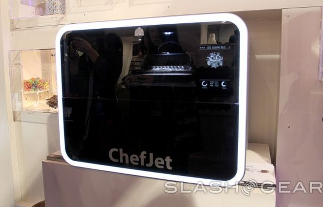3D Systems's ChefJet 3D printers