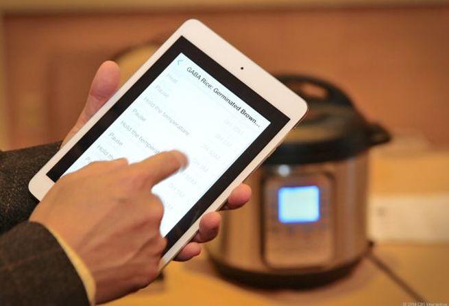 Ace Sensor Instant Pot Bluetooth enabled pressure cooker_2
