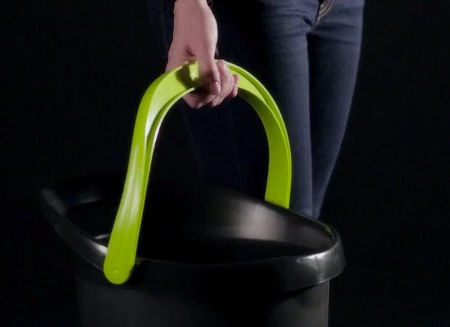 Big Gripper bucket with ergonomic features_4