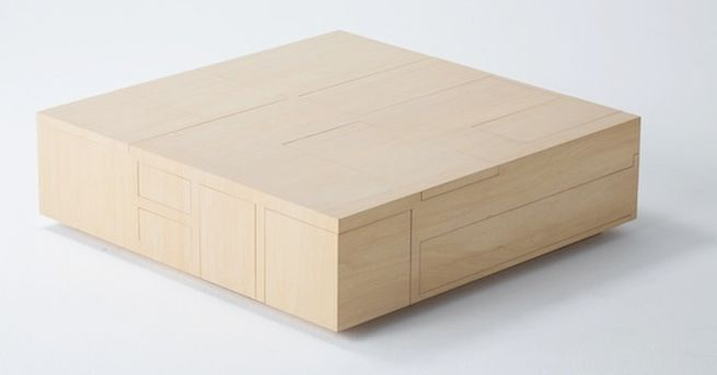Kai Table and Puzzle box storage cabinet_1