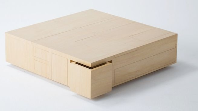 Kai Table and Puzzle box storage cabinet_2