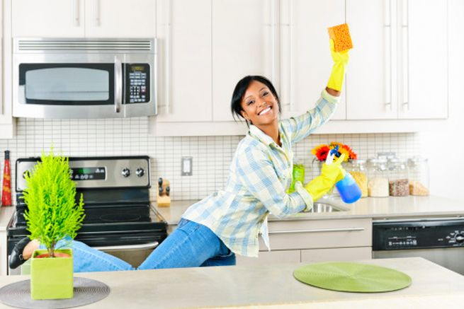 Kitchen cleaning solutions