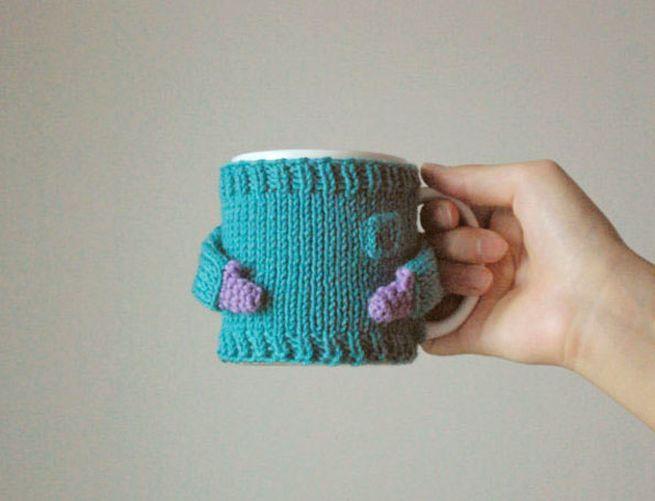 Knit coffee mug sweaters_1