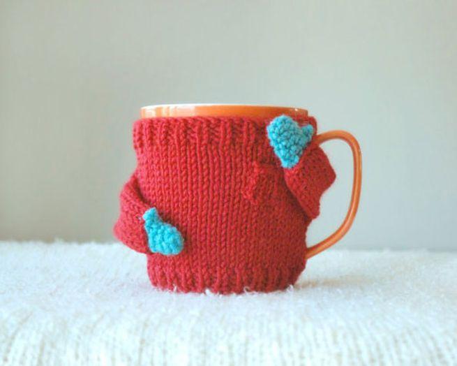 Knit coffee mug sweaters_3