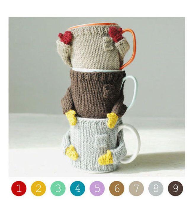 Knit coffee mug sweaters_6