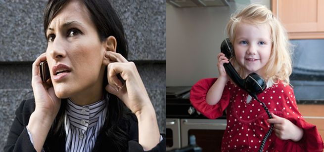 Landlines can have greater clarity