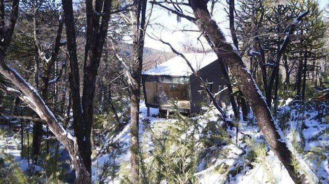 Little winter cabin Corralco, Chile_10