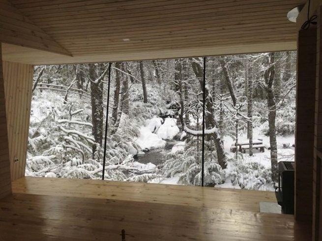 Little winter cabin Corralco, Chile_3