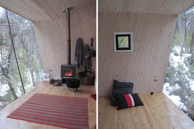 Little winter cabin Corralco, Chile_4