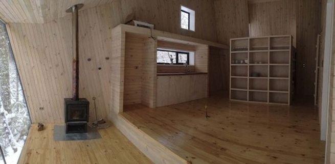 Little winter cabin Corralco, Chile_5