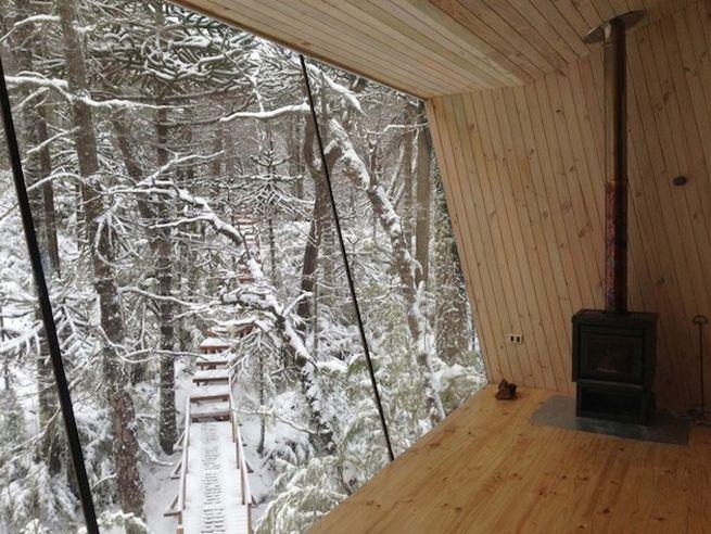 Little winter cabin Corralco, Chile_6