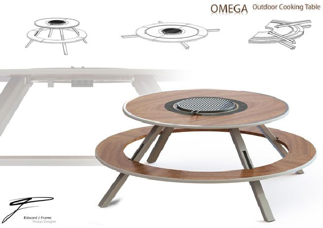 Now Enjoy Your Weekend Al Fresco Meal With The All New Omega Outdoor Cooking  Table
