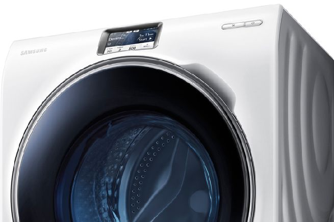 Samsung's WW9000 smart washing machine_1