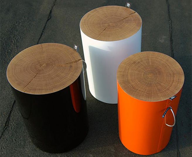 TRUNK Stool by MALAFOR_1