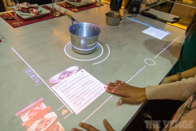 Whirlpool Conceptualizes An Interactive Touchscreen Cooktop