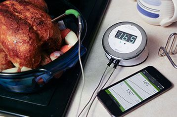 iDevices\' Kitchen Thermometer for wireless monitoring   Home ...