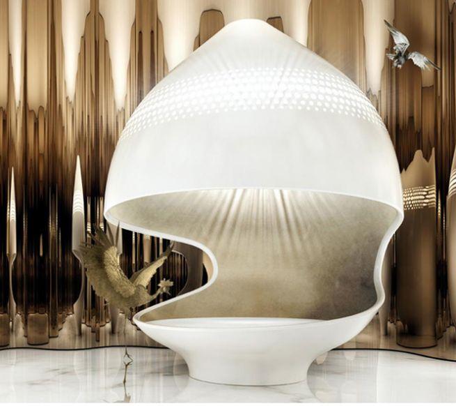 Cleopatra luxury bathtub from Kaldewei_1