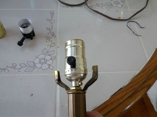 DIY lamp repair by Redditor_11