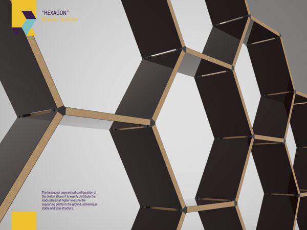 Hexagon modular furniture by Roger Zambrano_2