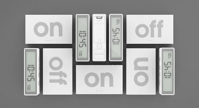 Lexon Flip On Alarm Clock by DesignWright_4