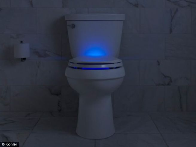 Nightlight toilet seat from Kohler_1