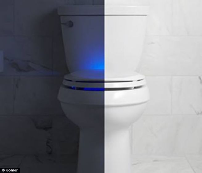 Nightlight toilet seat from Kohler_3