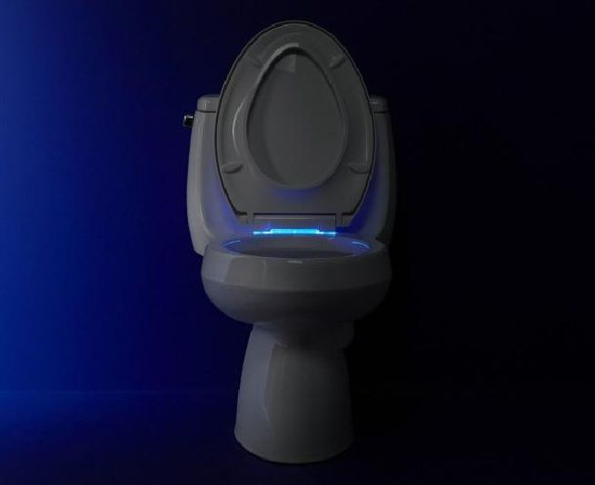 Nightlight toilet seat from Kohler_5