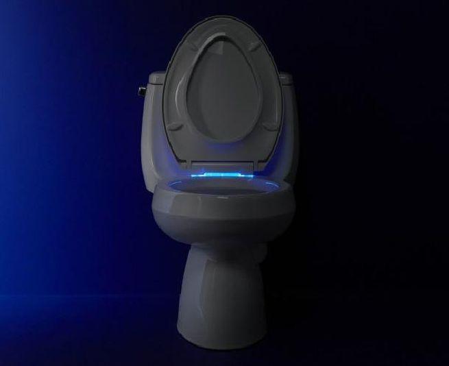 Led Lit High Tech Nightlight Toilet Seat From Kohler