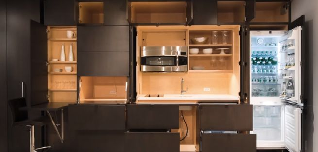 Stealth Kitchen from Resource Furniture_1