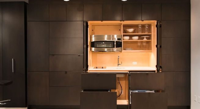 Stealth Kitchen from Resource Furniture_2