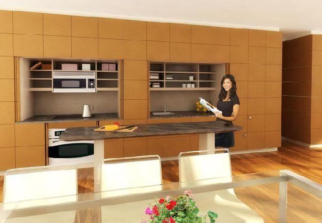 Stealth Kitchen from Resource Furniture_4
