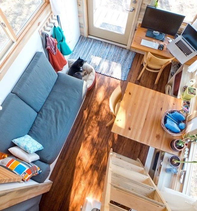 The 160 Sq Ft Tiny Project House By Alek