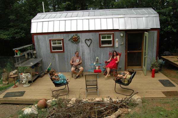 Hari and Karl Berzins 168 sq ft DIY tiny house_7