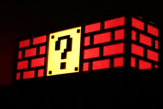 Mario Question Mark Block Lamp_4