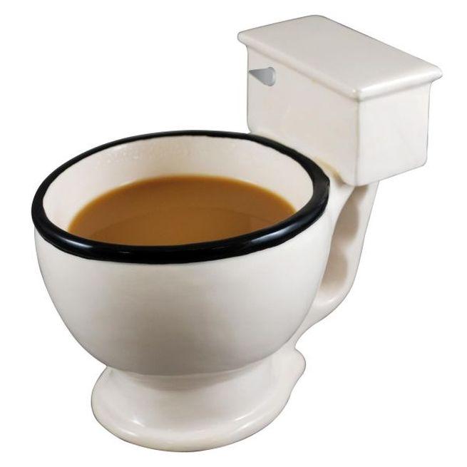No Flush Toilet Coffee Mug