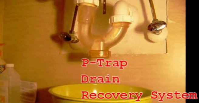 P-Trap Drain Recovery System by Stephen Becker_5