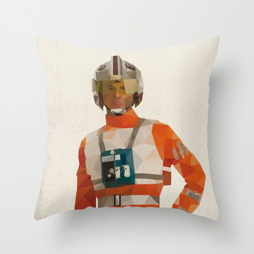 Polygon Star Wars character cushion covers_4