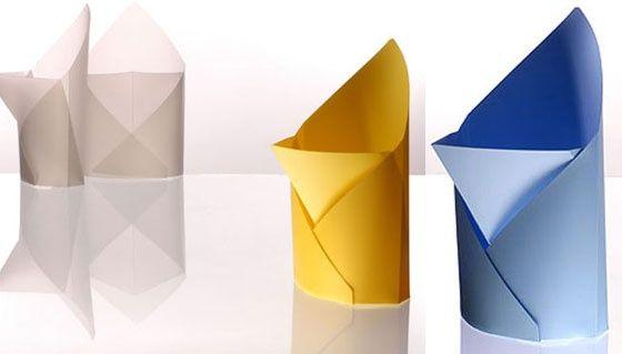 Polywrap Wastepaper Bin