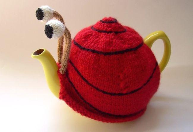 Snail tea pattern teapot_2