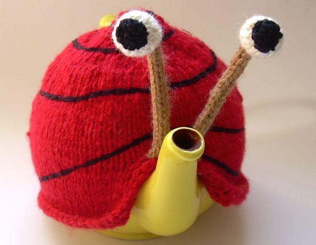 Snail tea pattern teapot_3