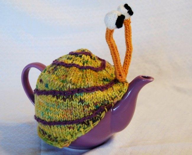 Snail tea pattern teapot_4