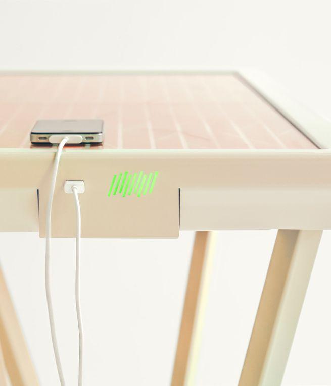 Solar powered table by Marjan van Aubel_3